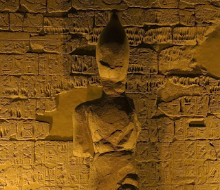 Karnak and Luxor Temple design in New Kingdom Egypt