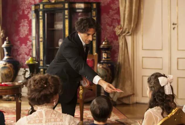 Houdini em apresentação com a princesa Anastasia