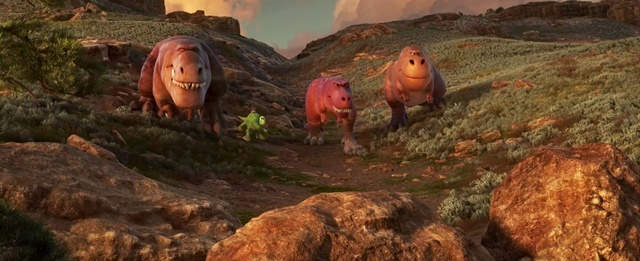 The Good Dinosaur (2015) HD 1080p Latino