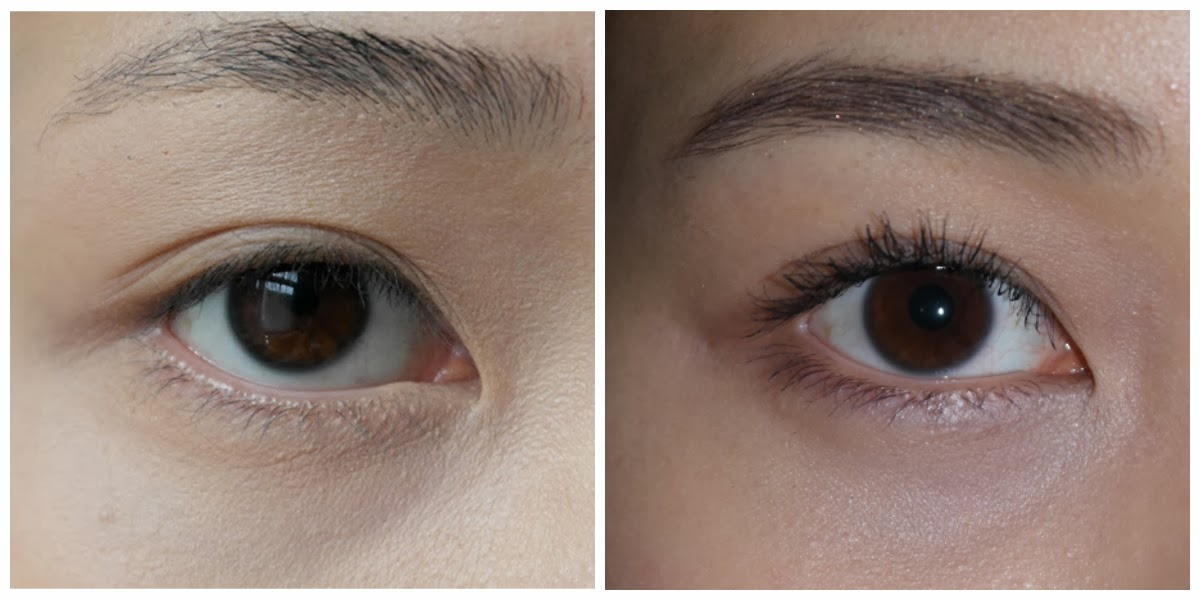 Shu Uemura Eyelash Curler Before and After