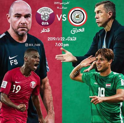 Qatar vs Iraq Live Streaming AFC 2019 (22.1.2019)
