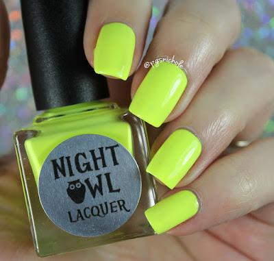 Night Owl Lacquer Imagine | Light & Bright Neon Creams