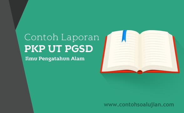 Contoh Laporan PKP UT PGSD Kelas IV SD Mata Pelajaran IPA