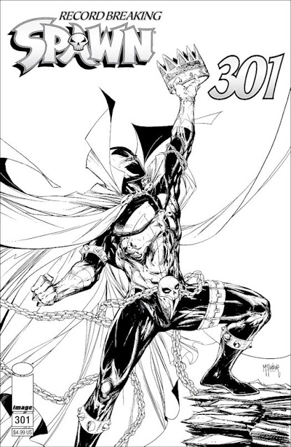 COVERS REVEALED FOR SPAWN #301