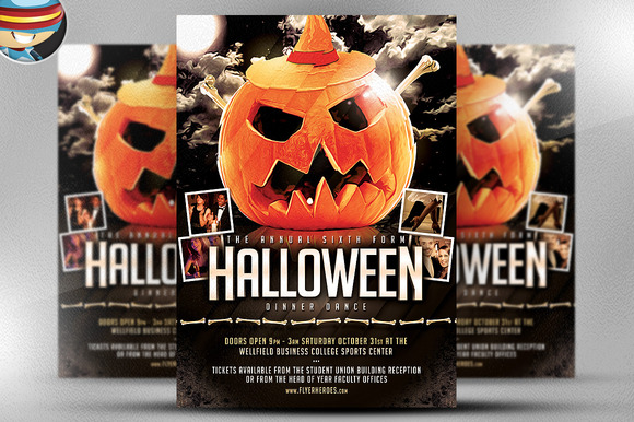 Creative Idea Halloween Flyer Templates