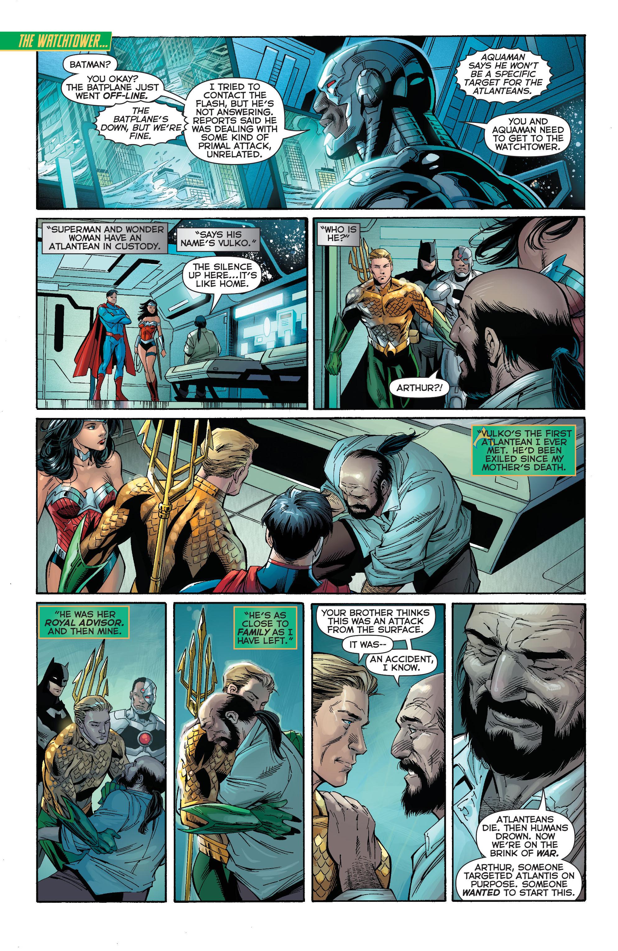 Read online Aquaman (2011) comic -  Issue #15 - 14