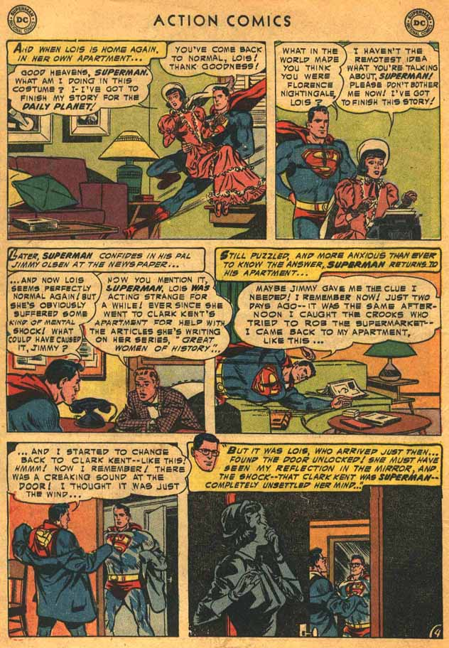 Read online Action Comics (1938) comic -  Issue #198 - 6