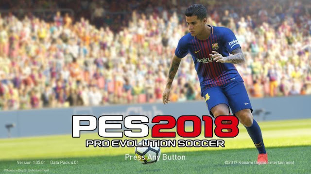 Philippe Coutinho 2019 Start Screen PES 2018