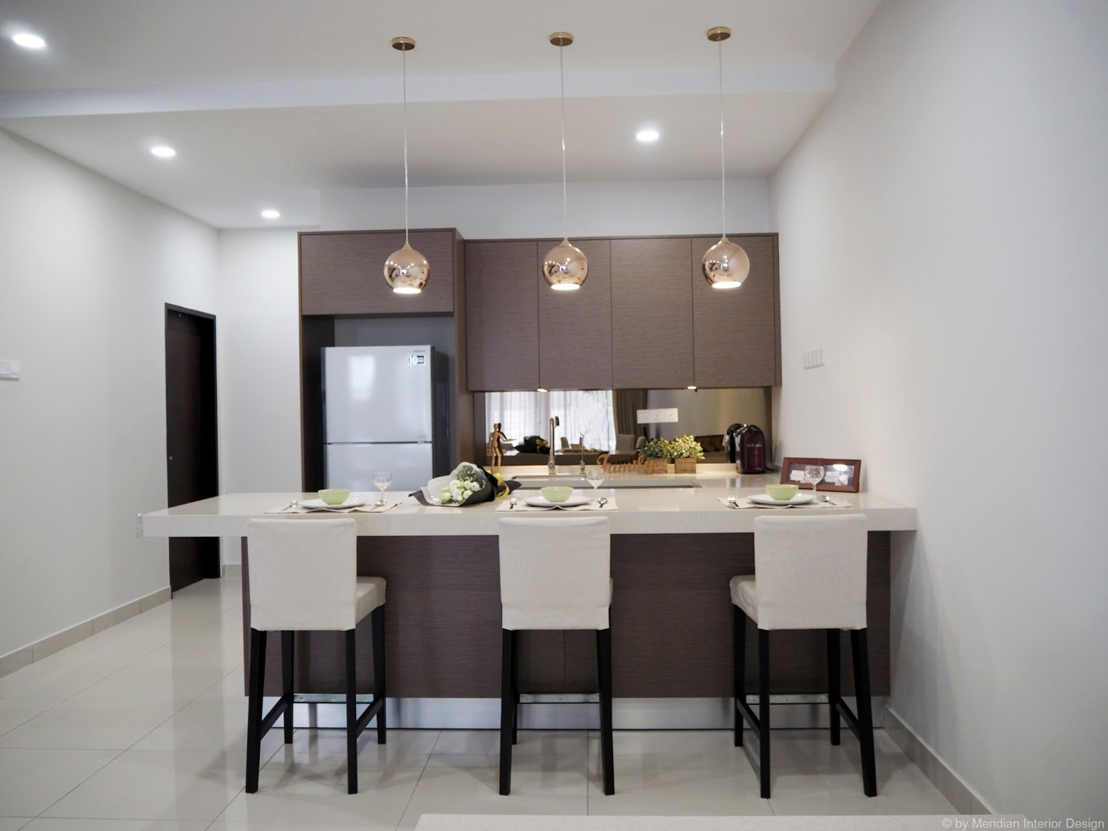 Meridian interior design and kitchen design in kuala for Kitchen decoration malaysia