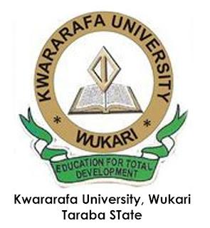 Kwararafa University, Wukari School Fees Schedule - 2017/2018