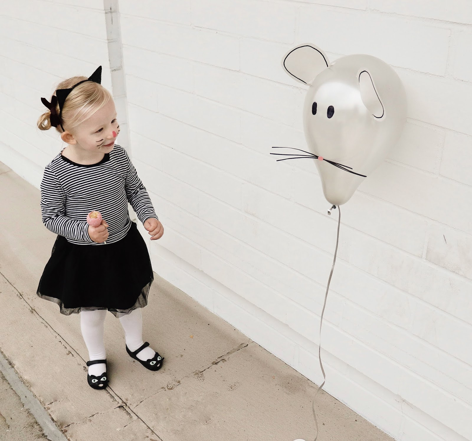 DIY cat and mouse halloween costume