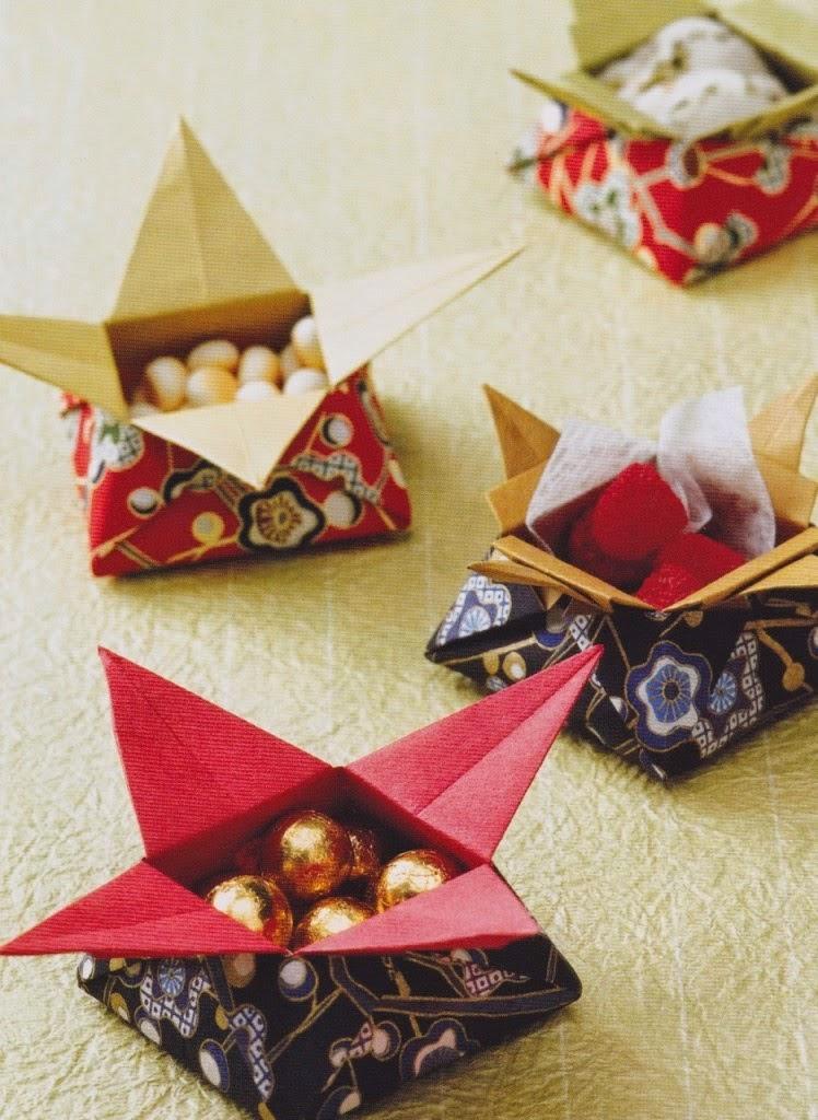 Origami instruction Star Box video ~ make origami easy ... - photo#41