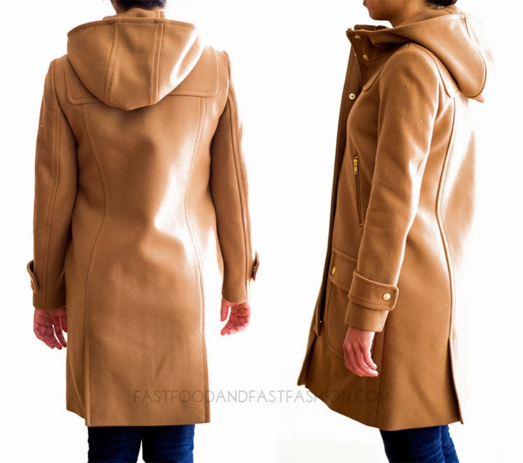 Review : J. Crew Coats : Wool-Cashmere Icon Trench / Wool Melton ...