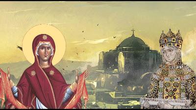 31 Αυγούστου οι ορθόδοξοι χριστιανοί γιορτάζουμε τη μεταφορά της στην ΚΠολη γύρω στο 400 μ.Χ.