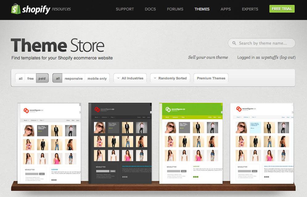 Download 21 Theme Shopify Wordpress Premium Secara Gratis