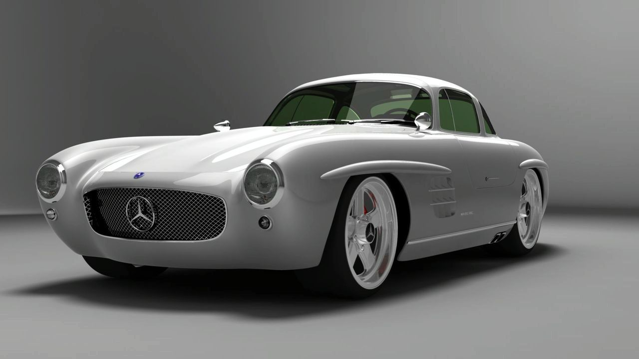 mercedes benz sl 300 gullwing coupe evolution huzhuzh. Black Bedroom Furniture Sets. Home Design Ideas