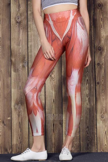 pantalones yoga músculos