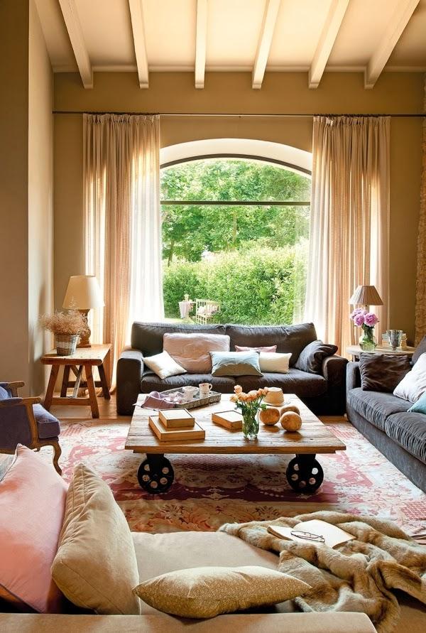 Przytulne mieszkanie w dawnej stajni, wystrój wnętrz, wnętrza, salon, urządzanie domu, dekoracje wnętrz, aranżacja wnętrz, inspiracje wnętrz,interior design , dom i wnętrze, aranżacja mieszkania, modne wnętrza, styl rustykalny, styl klasyczny, stare domy