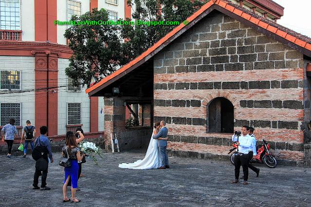 Wedding photo, Baluarte de San Andres, Intramuros, Manila, Philippines