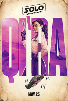 Solo A Star Wars Story Qi'ra poster