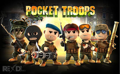Pocket Troops Apk + Data Strategy Game for Android Online Game