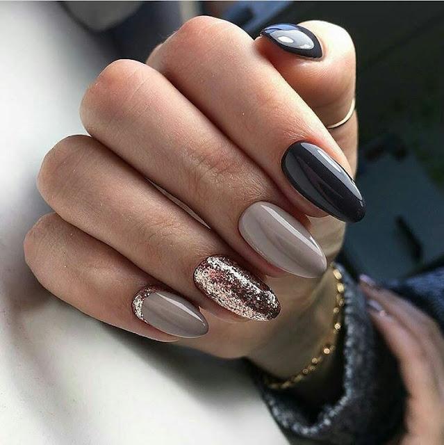 Mixed-nail-design