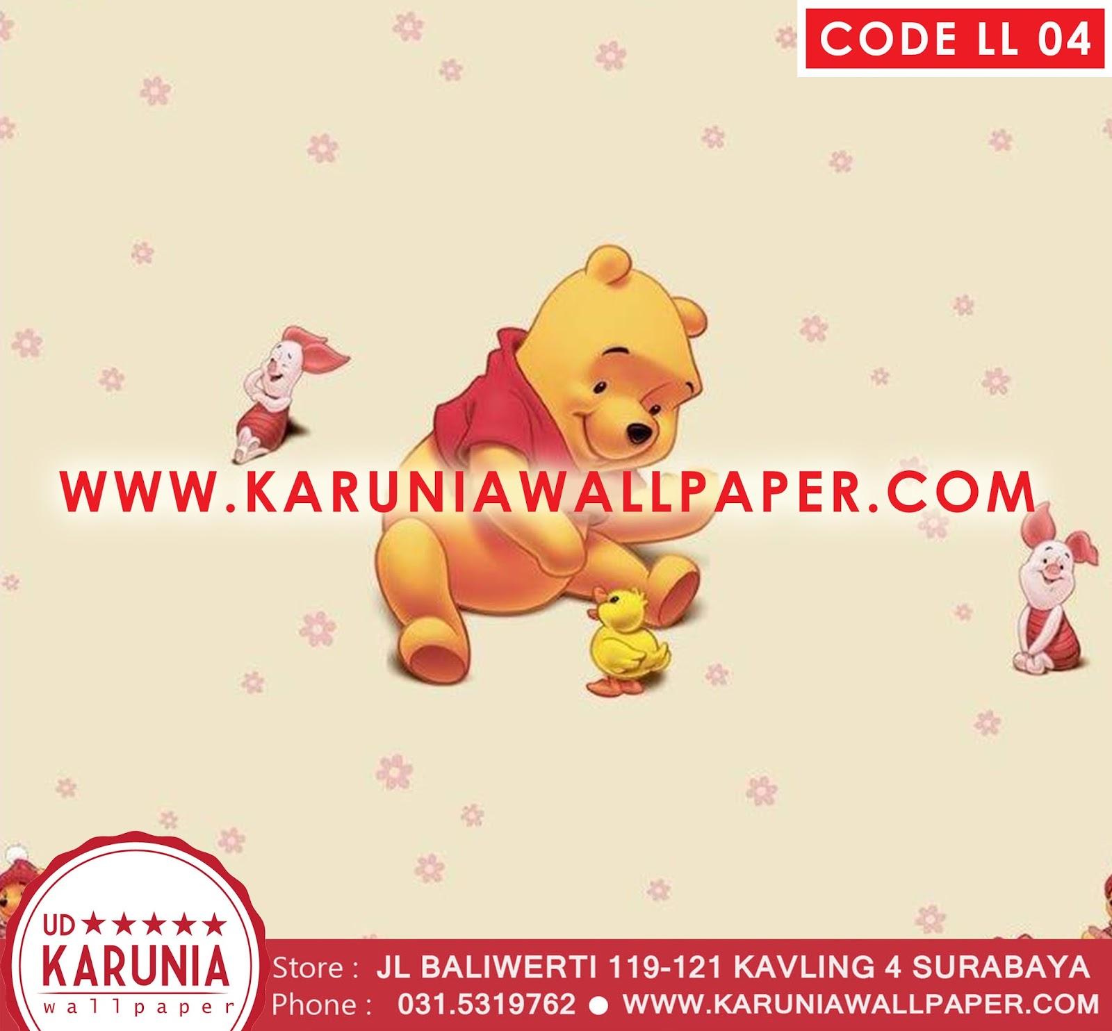 jual wallpaper winnie the pooh