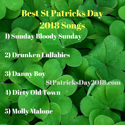Best St Patricks Day 2018 Songs