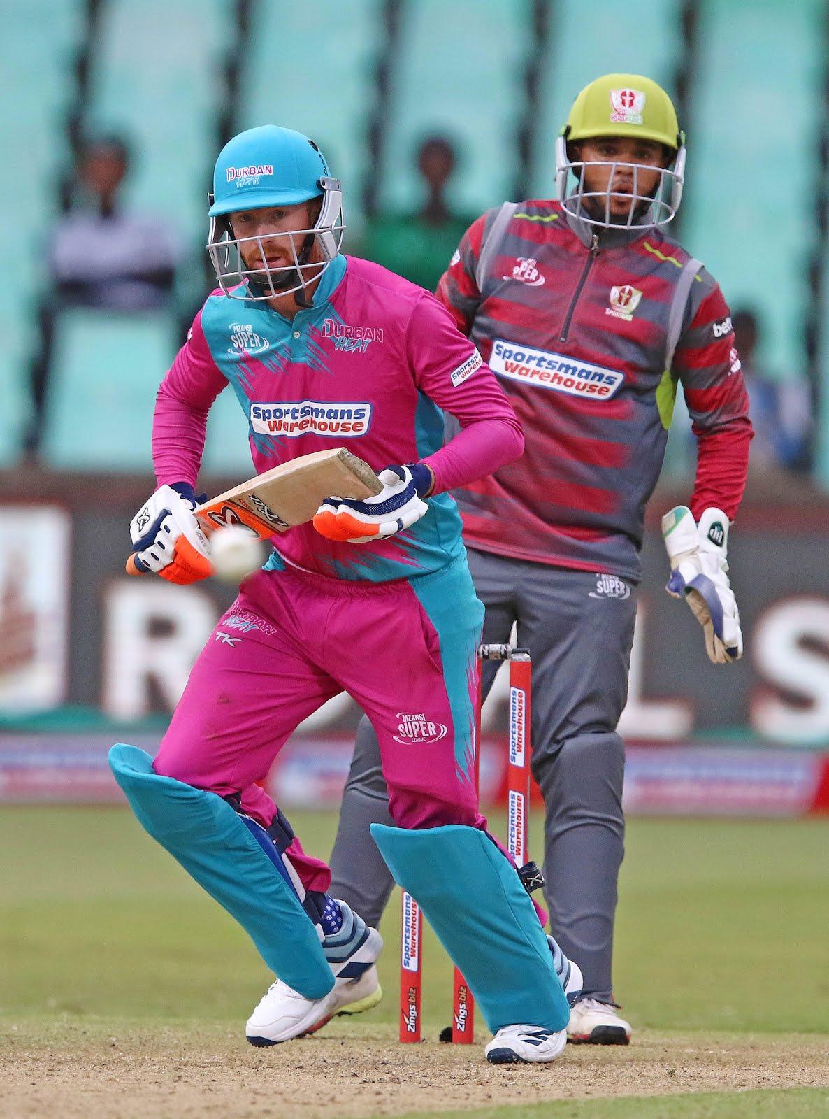 Heinrich Klaasen batting for Durban Heat