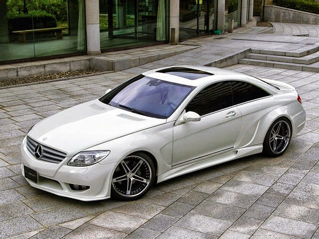 mercedes cl widebody