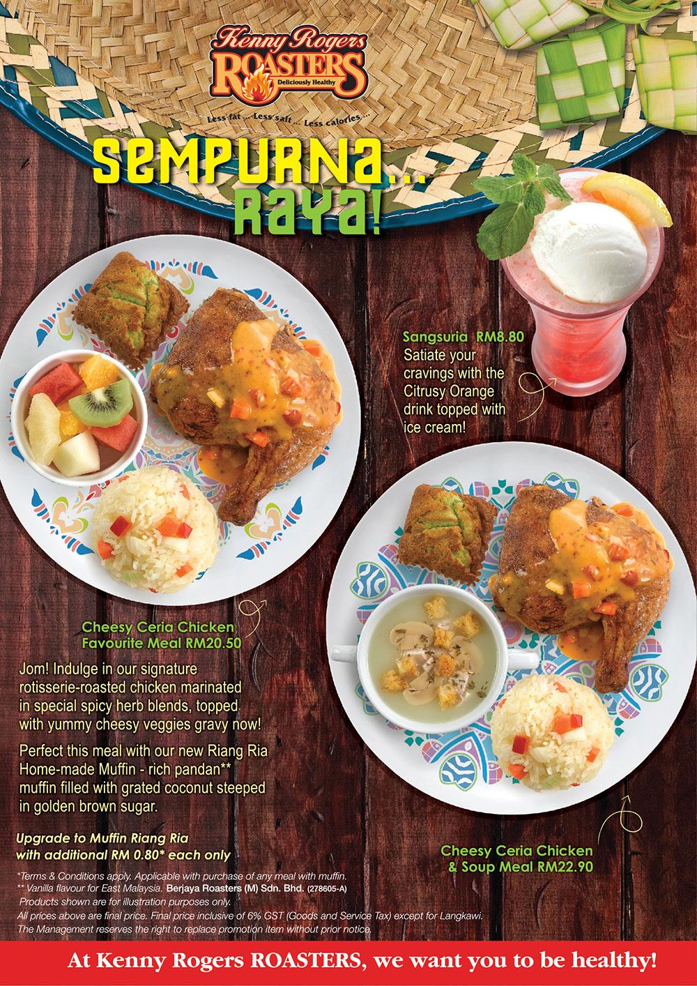 Follow Me To Eat La - Malaysian Food Blog: Kenny Rogers ...
