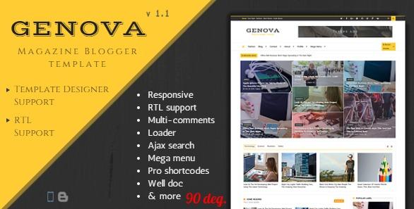genova news magazine responsive blogger template