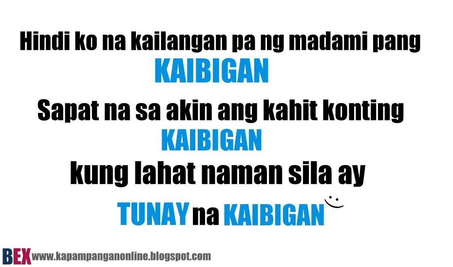 Kaibigan Quotes Tagalog. QuotesGram