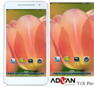 Cara Screenshot Advan T1X Pro