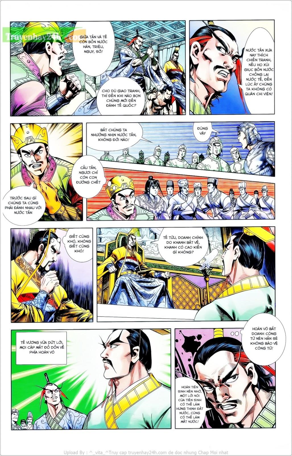 Tần Vương Doanh Chính chapter 24 trang 14