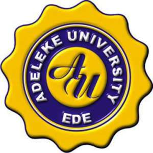 Adeleke University JUPEB / Pre-Degree Admission Form 2020/2021
