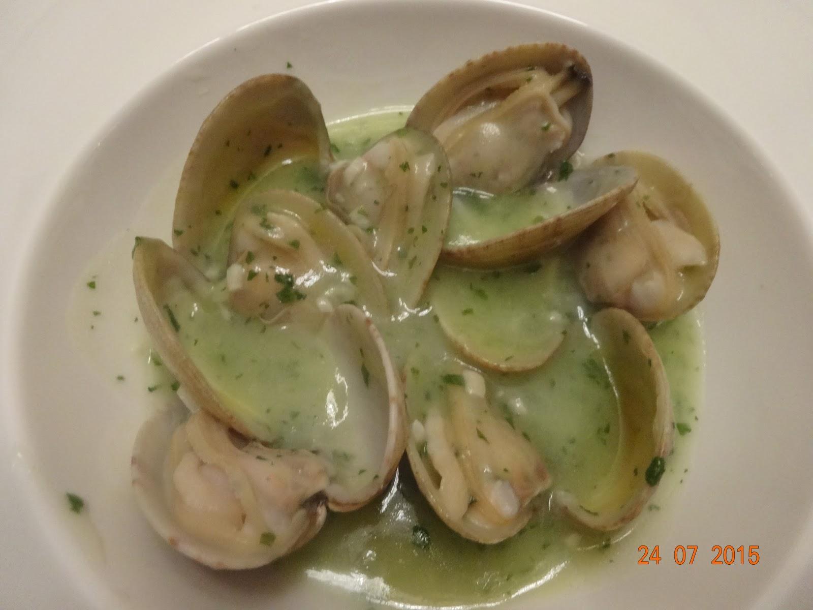 Cocinar es un sentimiento almejas en salsa verde - Salsa verde para almejas ...