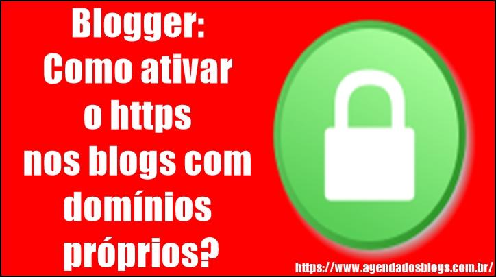 Conexão https para blogger