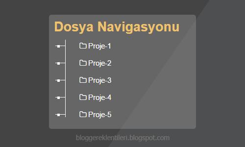 Blogger Dosya Pusulası