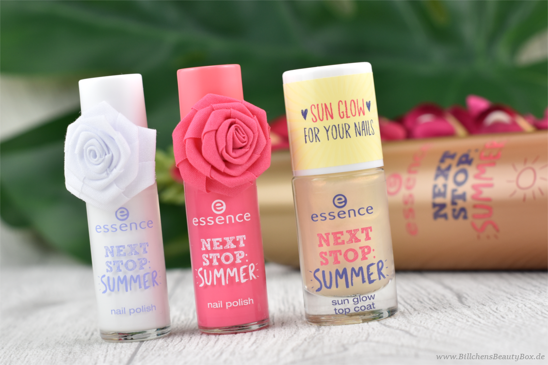 essence - 'next stop: summer' Trend Edition - Review, Swatches und Tragebilder