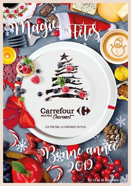 catalogue carrefour market gourmet maroc decembre 2018