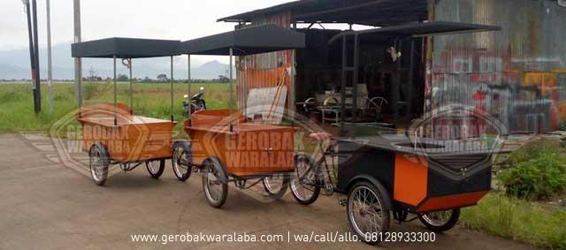gerobak sepeda bandung