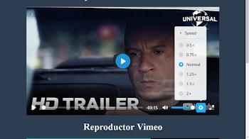 Reproductor html5 de video y audio (gratis)