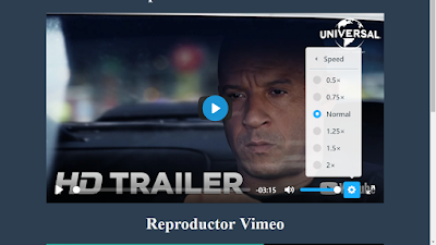 Reproductor html5 de video y audio (gratis)