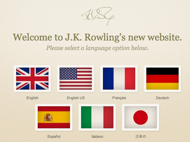 Harry Potter Book Release Dates Timeline : Jk rowling s new book title and website revealed — word of