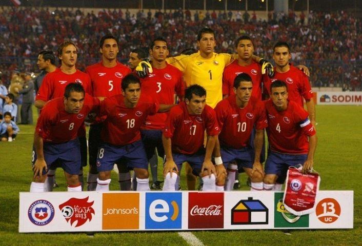 Formación de Chile ante Trinidad y Tobago, amistoso disputado el 5 de mayo de 2010