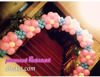 Balon gapurs untuk pernikahan
