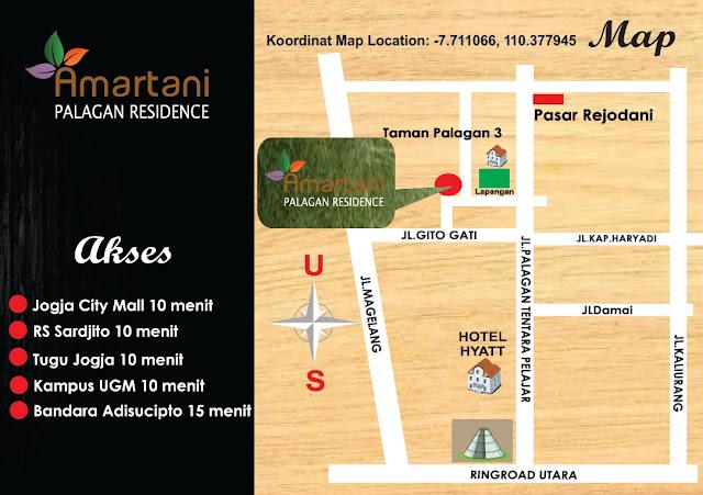 Perumahan di jalan Palagan Km 10 ( Amartani Palagan Residence )