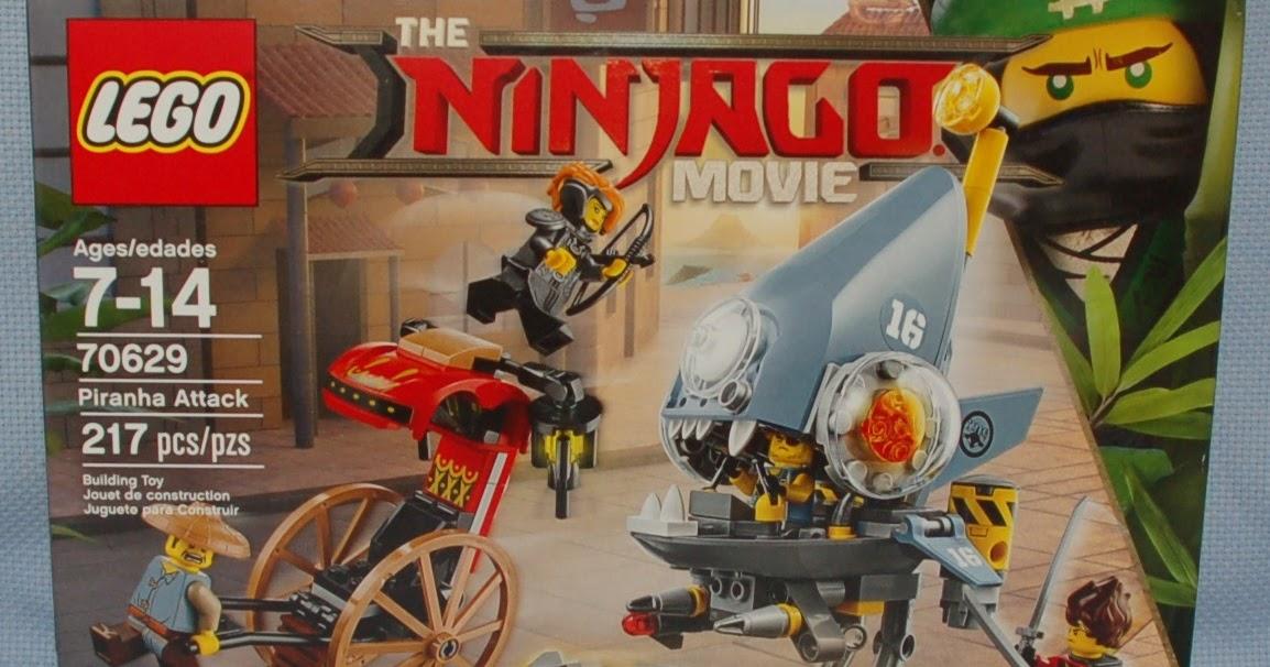The Mobile Frame Garage: Review: 70629 Ninjago Movie Piranha Attack