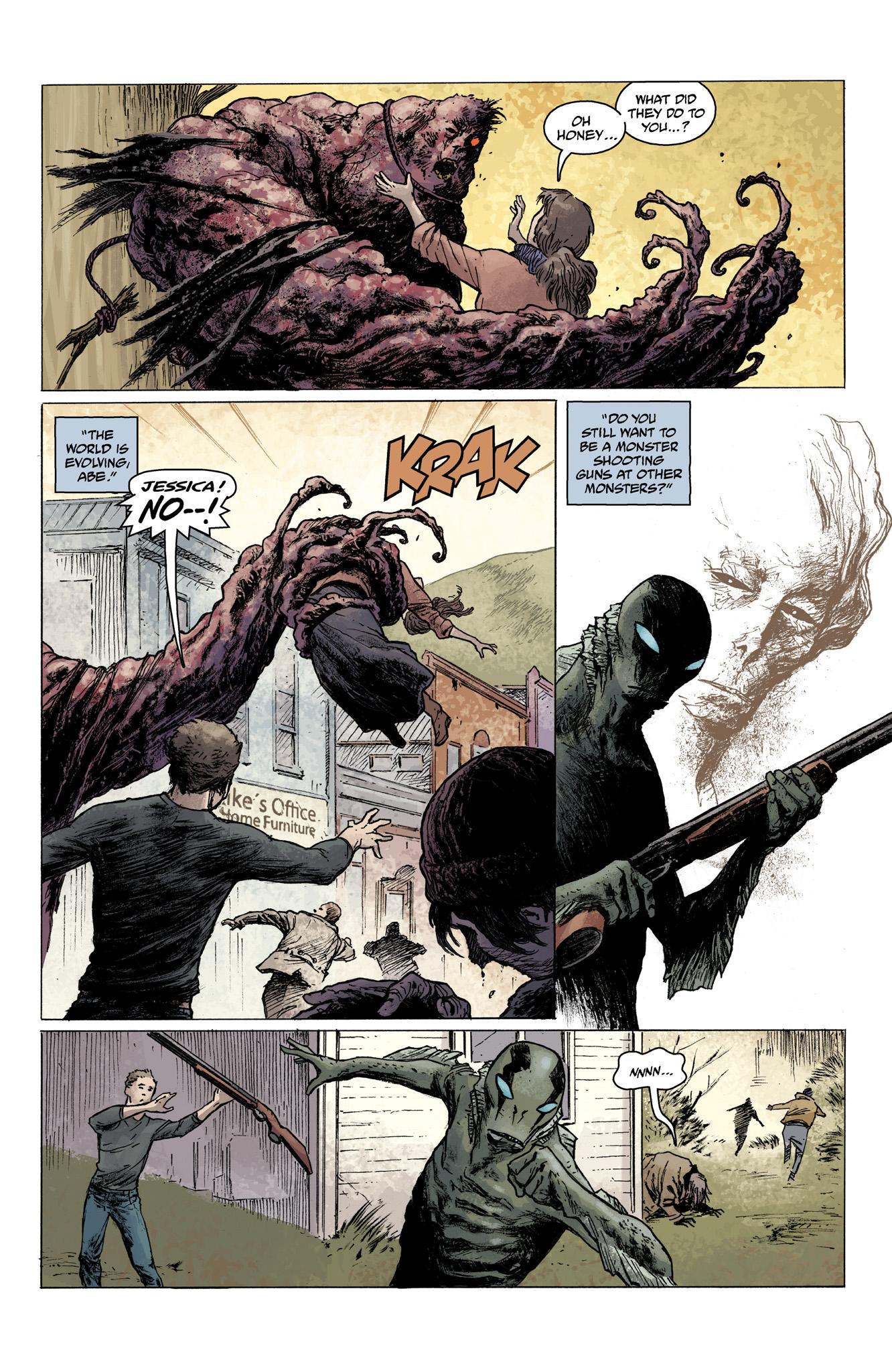 Read online Abe Sapien comic -  Issue #3 - 7